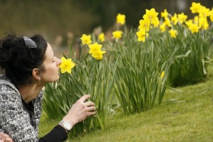 We associate smells with memories and smells stimulate our perception of the world.